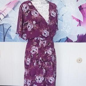 Flowy Floral Luxology Dress